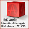 "Sello de participación ""HRK-Audit Internationalisierung der Hochschulen"""